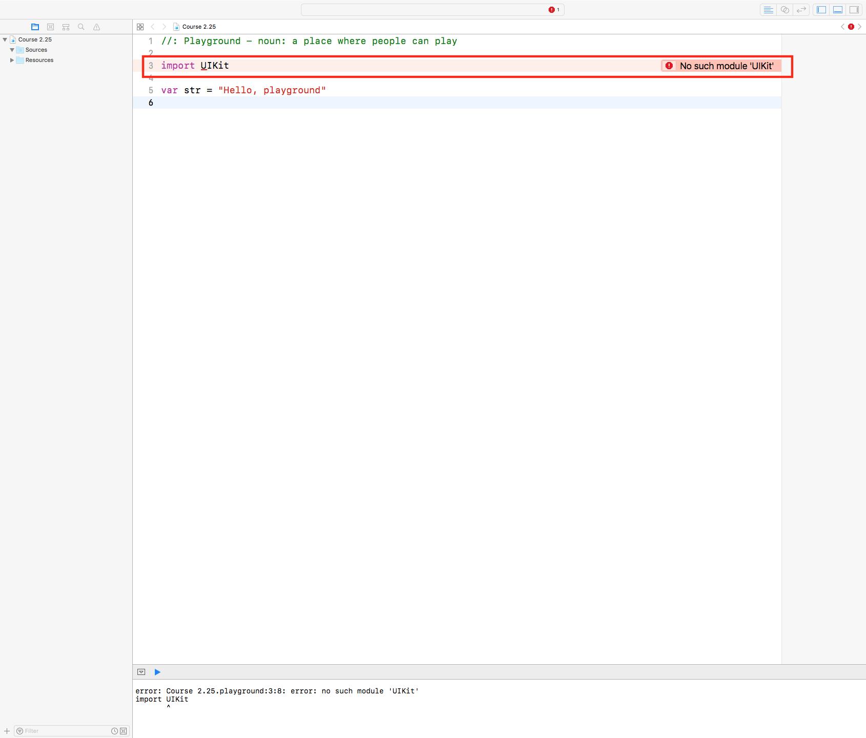 Xcode 9 No Such Module